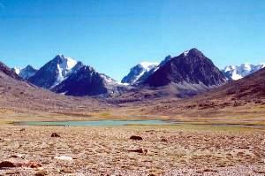 As montanhas são formadas a partir de energias contidas no interior da Terra.