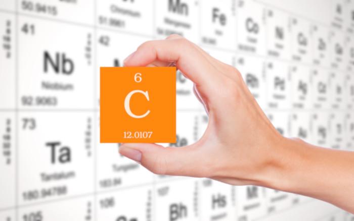 O carbono é o elemento-base da Química Orgânica.