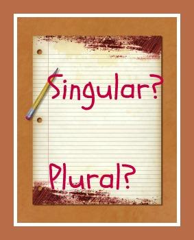 O singular ou o plural de determinadas expressões se encontra relacionado a aspectos específicos