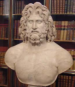 Zeus, o principal Deus Grego