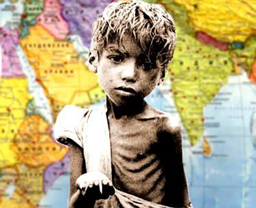 A miséria de alguns países tem relação íntima com a ação imperialista.