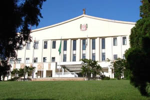 Palácio dos Bandeirantes, sede do Governo do Estado de São Paulo.