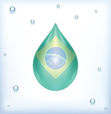 O Brasil é um país que possui muita água doce, porém há uma má distribuição territorial do recurso