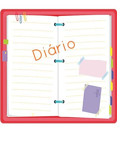 O diário constitui um dos gêneros textuais
