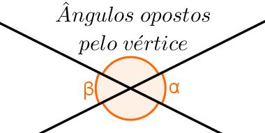 Ângulos opostos pelo vértice são congruentes, isto é, possuem medidas iguais
