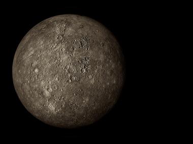 O planeta Mercúrio assemelha-se com a aparência da Lua