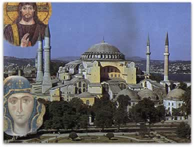 Mosaicos bizantinos e a igreja de Santa Sofia: arte bizantina