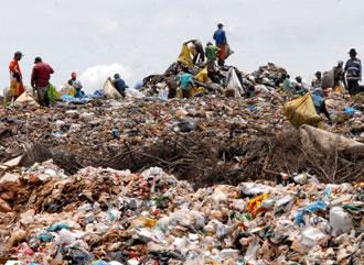 O lixo é um dos grandes problemas ambientais das cidades