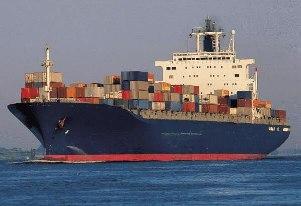 O transporte que promove a maioria das relações comerciais de exportação e importação.