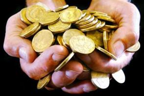 Cheiro de moedas nas mãos