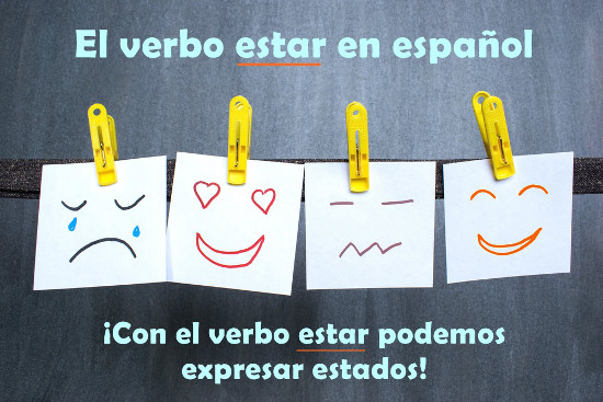 """Verbo """"estar"""" em Espanhol"""
