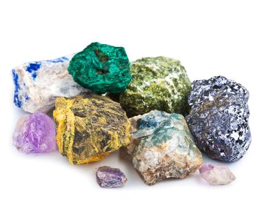 Diferença entre rochas e minerais