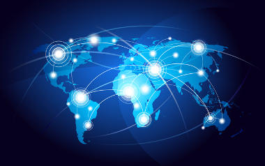 As multinacionais expandiram-se por todo o mundo