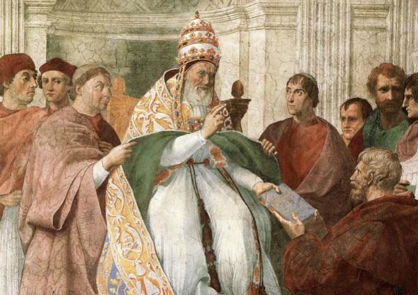 O amplo poder delegado aos papas abria caminho para uma série de ações questionáveis.