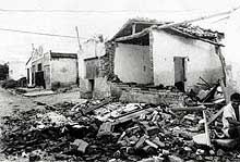 Terremoto derrubou 4 mil casas em 1996 no Rio Grande do Norte.
