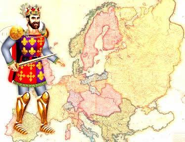 O processo de formação das Monarquias Nacionais atribuiu novas feições à Europa.