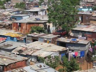 Bairro como esse é resultado do êxodo rural ocorrido no Brasil.