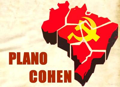 """A """"ameaça comunista"""" usada como justificativa para a instalação do Estado Novo."""