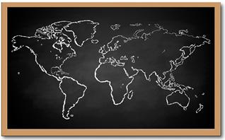 O intercâmbio é uma ótima oportunidade de conhecer o mundo na prática