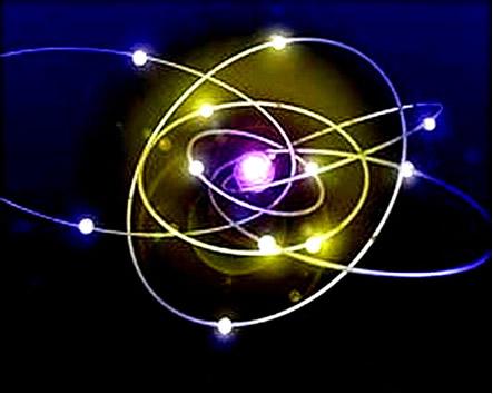 O conteúdo energético de cada um dos elétrons de um átomo é caracterizado por quatro números quânticos