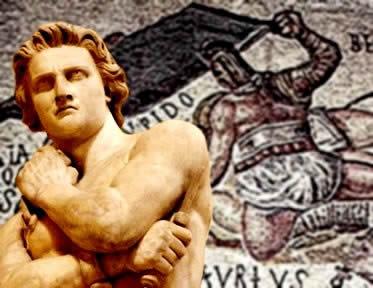 Espártaco liderou uma revolta que ameaçou a vigência do sistema escravista em Roma.