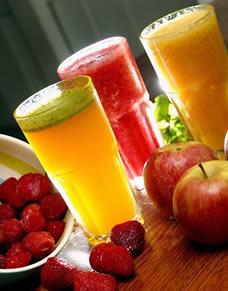 Sucos: uma opção saudável para a criançada.