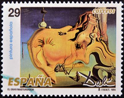 El Gran Masturbador, de 1929, obra em que Dalí possivelmente teve Gala como musa