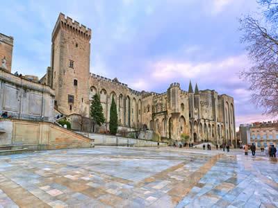 Palácio do papa na cidade de Avignon, sede do papado católico entre 1307 e 1377