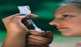 A diabetes melitus é regulada com a aplicação de insulina.