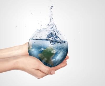 A distribuição da água no mundo