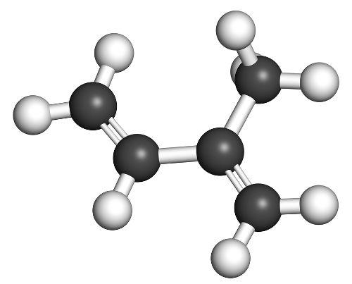 Exemplo de formula química de um hidrocarboneto ramificado