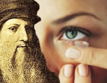 A invenção das lentes de contato