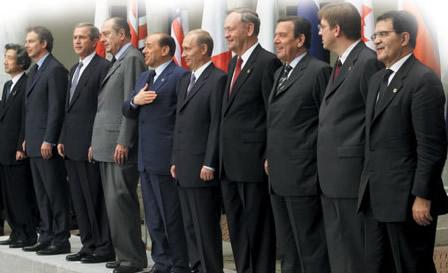 Encontro dos líderes do G8