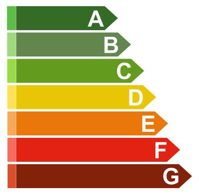 Esse selo graduado de A até E é utilizado em aparelhos eletrodomésticos para indicar a eficiência energética