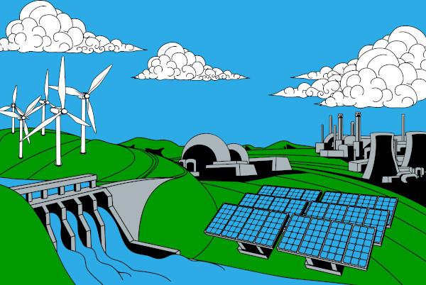 A matriz energética do Brasil é composta por fontes de energias renováveis e não renováveis.
