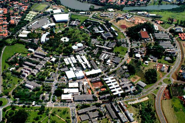 Unicamp imagem aérea Antonio Perri