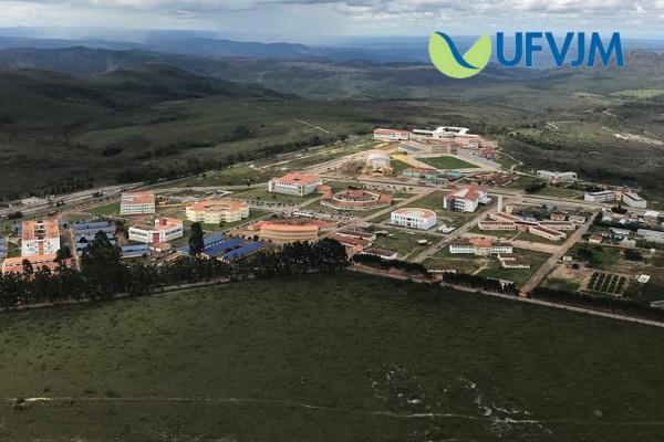 Vista aérea do Campus JK / Crédito da Foto: Divulgação Dicom UFVJM
