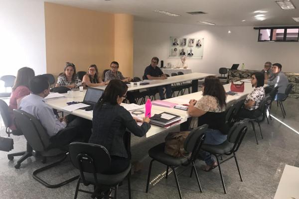 Registro da reunião com o Conselho Universitário da UEFS / Crédito: UEFS