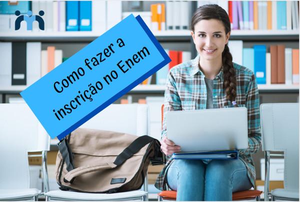 Para fazer a inscrição no Enem o estudante precisa de um computador ou celular com acesso à internet