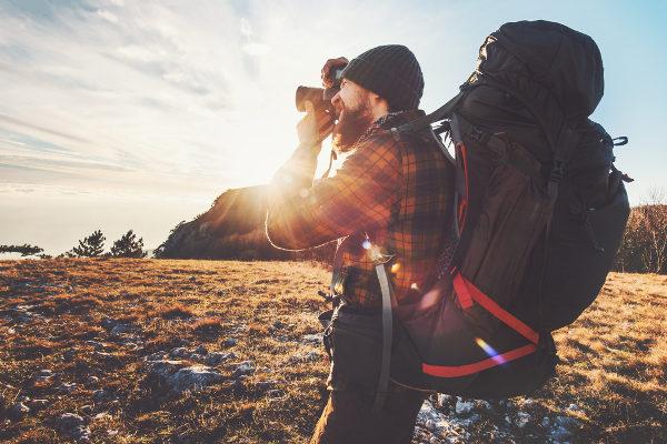 O fotógrafo está entre as profissões que se trabalham ao ar livre