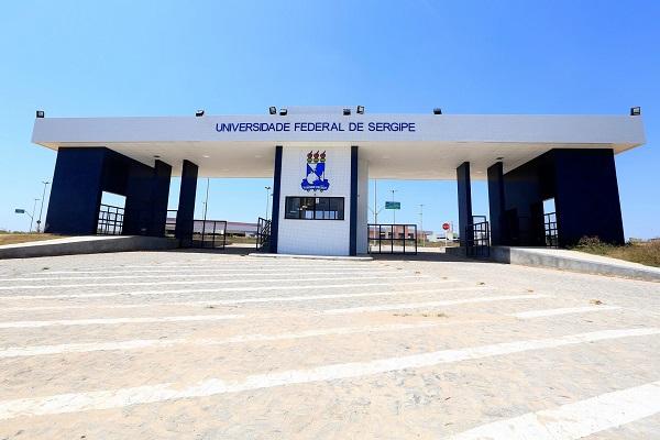 Fachada do Campus Lagarto da Universidade Federal de Sergipe (UFS)