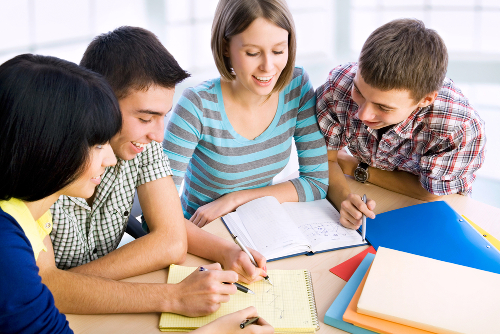 estudo em grupo