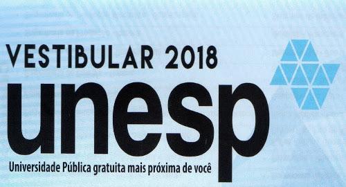 Correção Comentada Unesp 2018 (1ª fase)