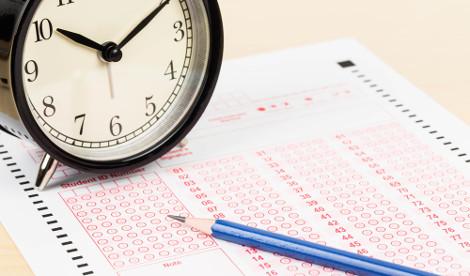 É importante que o estudante saiba dividir o tempo durante a prova do vestibular