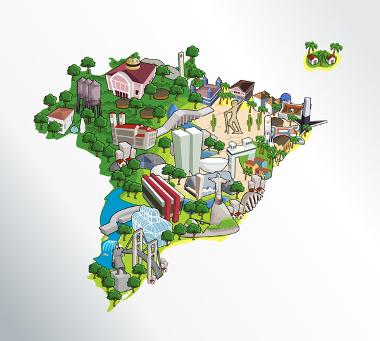 A Geografia do Brasil é cobrada pelo Enem em seus aspectos humanos e naturais
