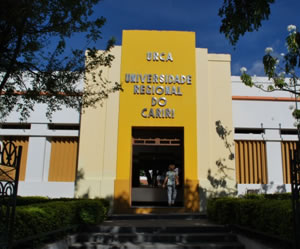 A URCA ainda utiliza somente o vestibular tradicional como forma de ingresso na instituição