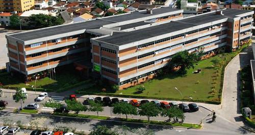 Campus Centro da UniVali, situado em Biguaçu