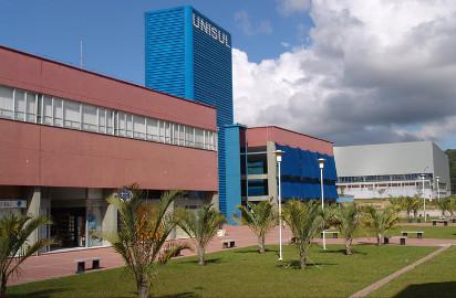 Campus da Unisul na Grande Florianópolis