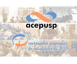 Cursinho ACEPUSP trabalha com quatro turmas por ano, com duração de 4 a 10 meses