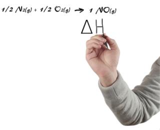 Estude as equações termoquímicas e a variação da entalpia (∆H)